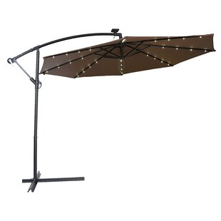 Brayden Studio Gorman 10' Lighted Umbrella