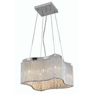 Downes 8-Light Crystal Chandelier by House of Hampton