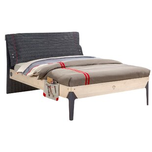 Holroyd Smart Full Upholstered Sleigh Bed by Isabelle & Max Great Reviews