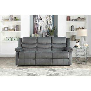 Act Suede Reclining Sofa