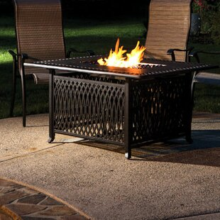 Darby Home Co Gibbons Aluminum Gas Fire P..