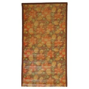 Intersection Floral Medium Brown Area Rug