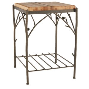 Pine Prep Table by Stone County Ironworks