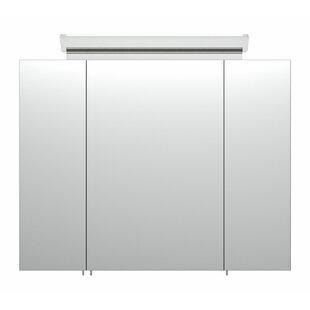Avendano 80 X 62cm Surface Mount Mirror Cabinet With Lighting By Metro Lane