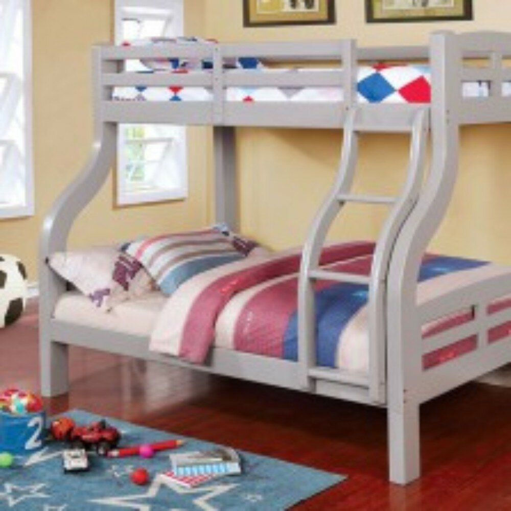 Harriet Bee Newcastleton Twin Over Full Bunk Bed Wayfair