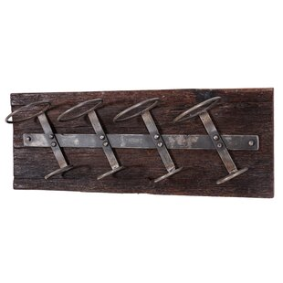 Annalise 4 Bottle Wall Mounted Wine Rack By Williston Forge