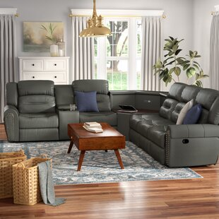 Great choice Scheele Reclining Sectional by Red Barrel Studio Reviews (2019) & Buyer's Guide