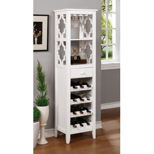 Whelchel 12 Bottle Floor Wine Cabinet
