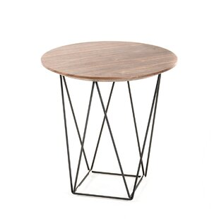 Coupon Tyngsborough End Table by Bungalow Rose