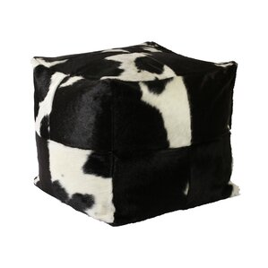 Denver Leather Ottoman by ..
