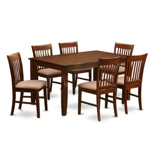 Newsome 7 Piece Dining Set DarHome Co