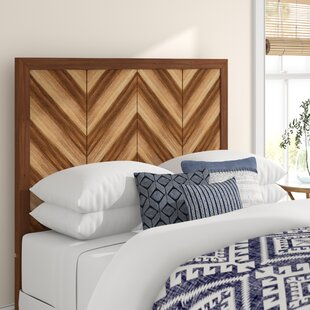 Florentin Wood Frame Panel Headboard by Mistana