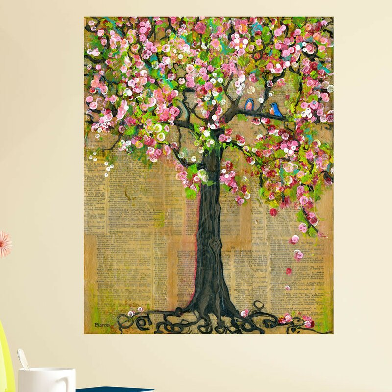 My Wonderful Walls Mixed Media Nature Lexicon Tree of Life by Blenda ...