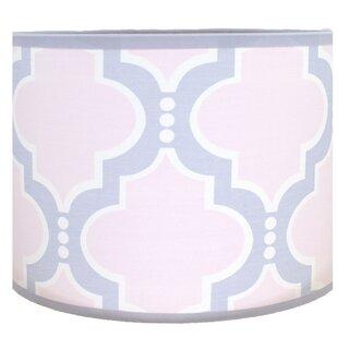 Trellis 9 Cotton Drum Lamp Shade