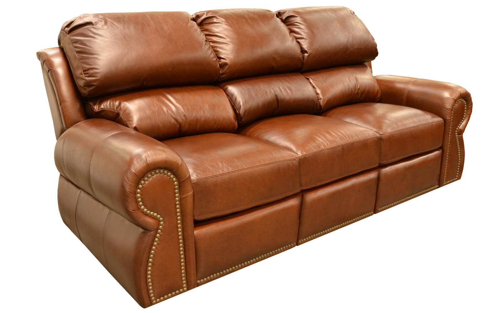 Cordova Leather Sleeper Sofa