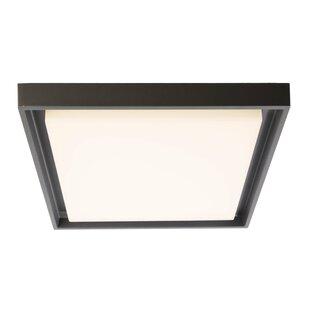 Arneb 1-Light LED Outdoor Flush Mount By Deko Light