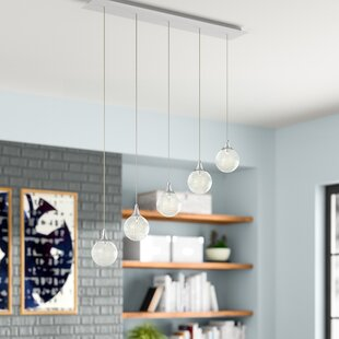 Chesterton 5-Light Cascade Pendant by Wade Logan