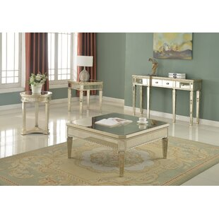 Felicia 4 Piece Coffee Table Set