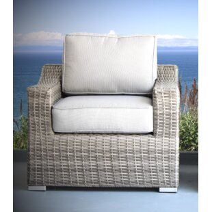 Laurene Club Patio Chair with Cushions