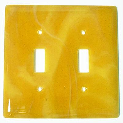 Ebern Designs Bharat 2 Gang Toggle Light Switch Wall Plate Wayfair
