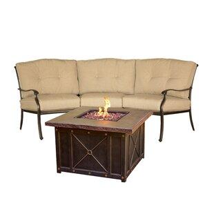 Fleur De Lis Living Bryden 2 Piece Sofa Set with Cushions