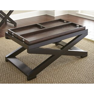 Read Reviews Stillman Coffee Table with Tray Top by Alcott Hill