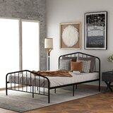 Elysburg 39 Steel Platform Bed by Red Barrel Studio®