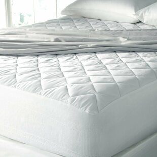 J&V Textiles Hypoallergenic High-Loft Moisture-Wicking Mattress Pad