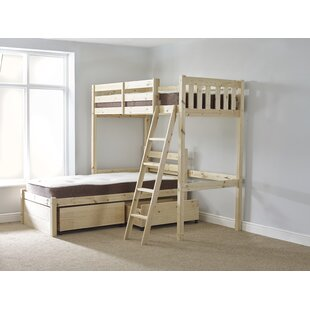 Cumbria L-Shaped Bunk Bed With Drawers By Just Kids