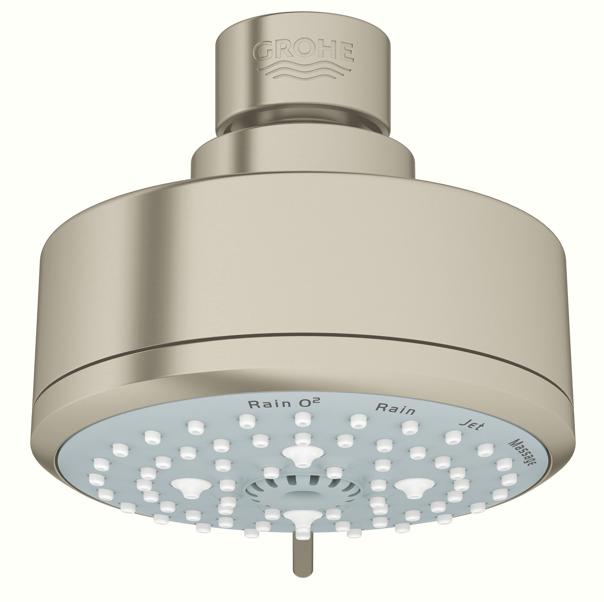 Tempesta Rain Adjustable Shower Head With Speedclean Nozzles
