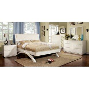 Hokku Designs Jaynie Upholstered Platform Bed