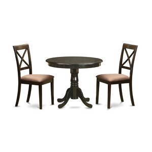 3 Piece Dining Set by East West Furnit..