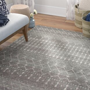 Online Reviews Clair Dark Gray Area Rug By Mistana