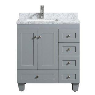 Kyndra Transitional 31 Single Bathroom Vanity Set by Darby Home Co