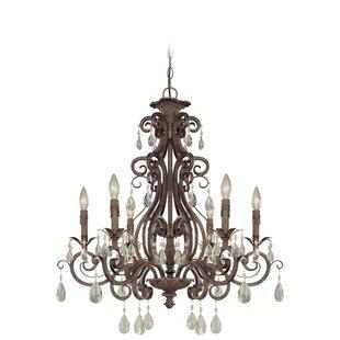 Astoria Grand Lilliane 6-Light Candle Style Chandelier