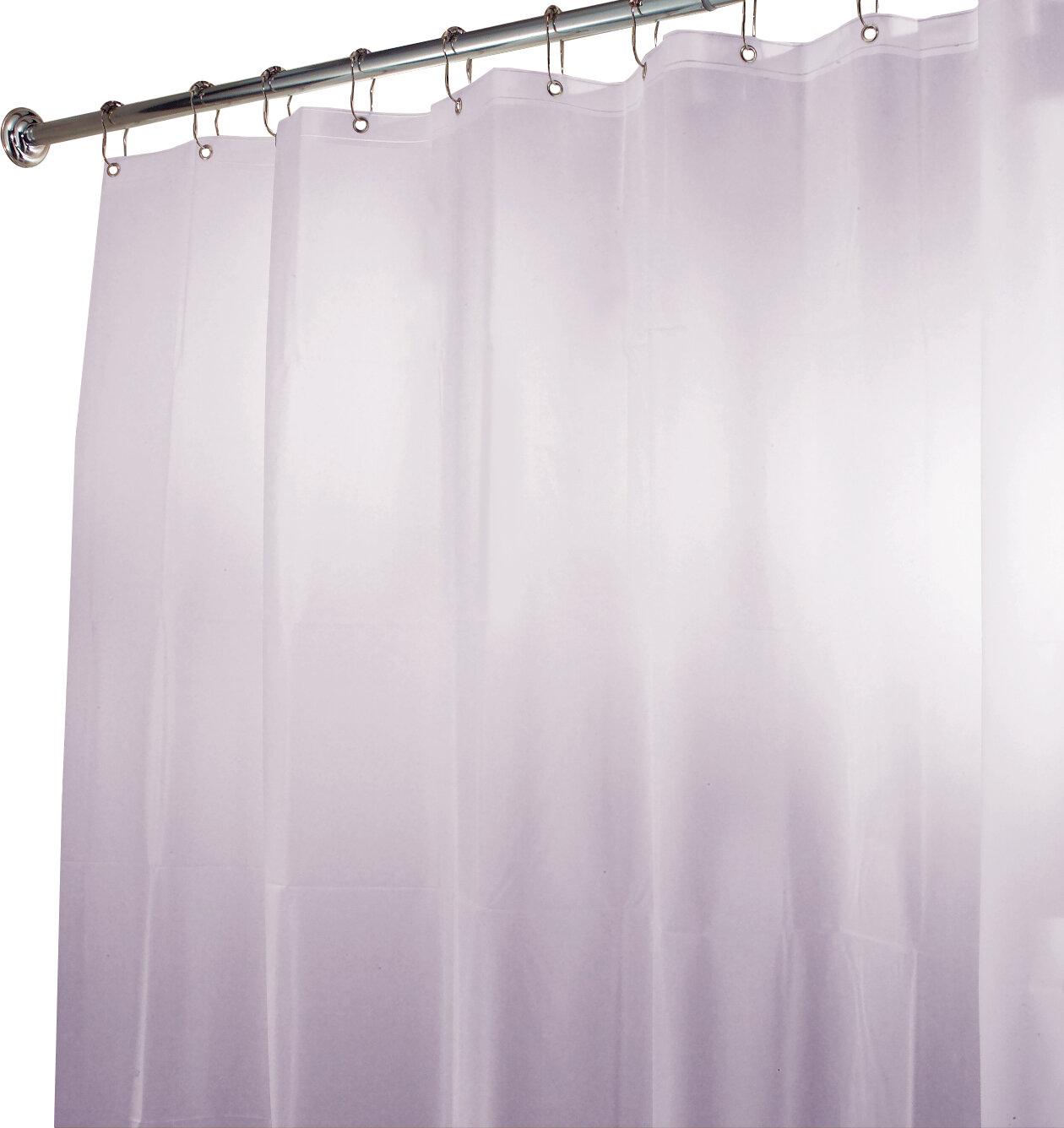 InterDesign EVA Waterproof Vinyl Shower Curtain Reviews