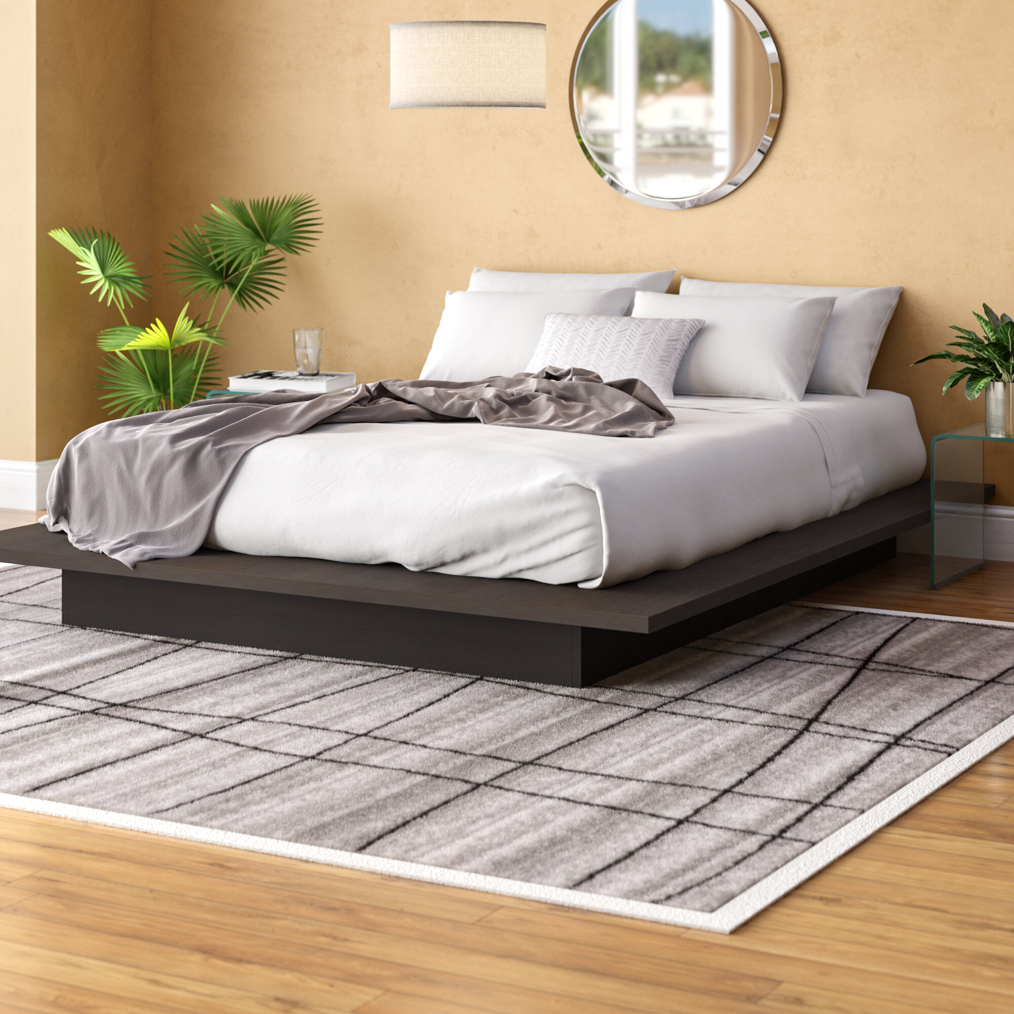 Queen Bed Frame.Stromsburg Queen Platform Bed