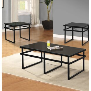 Brayden Studio Midtown 3 Piece Coffee Table Set