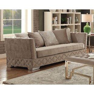 Falite Velvet Sofa