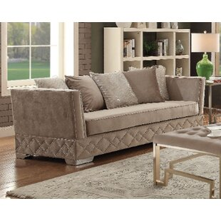 Compare & Buy Falite Velvet Sofa by House of Hampton Reviews (2019) & Buyer's Guide