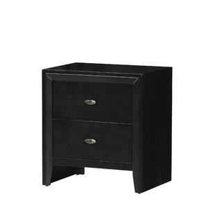 Fraser 2 Drawers Nightstand