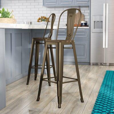 Magnificent Trent Austin Design Fortuna 30 Inch Bar Stool Ibusinesslaw Wood Chair Design Ideas Ibusinesslaworg