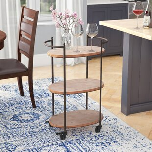 Julianne Tri Level Bar Cart by Mistana