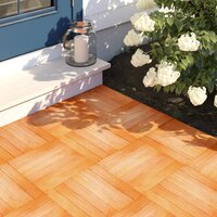 Deals on Tryon 12-in x 12-in Eucalyptus Interlocking Deck Tile in Natural