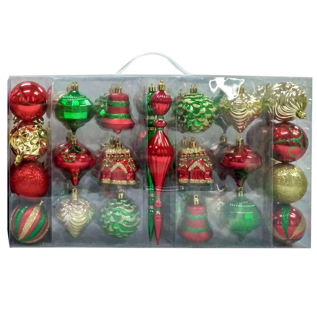 Green Yellow Christmas Ornaments You Ll Love In 2021 Wayfair
