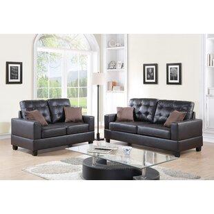 Maria 2 Piece Living Room Set by A&J Homes Studio
