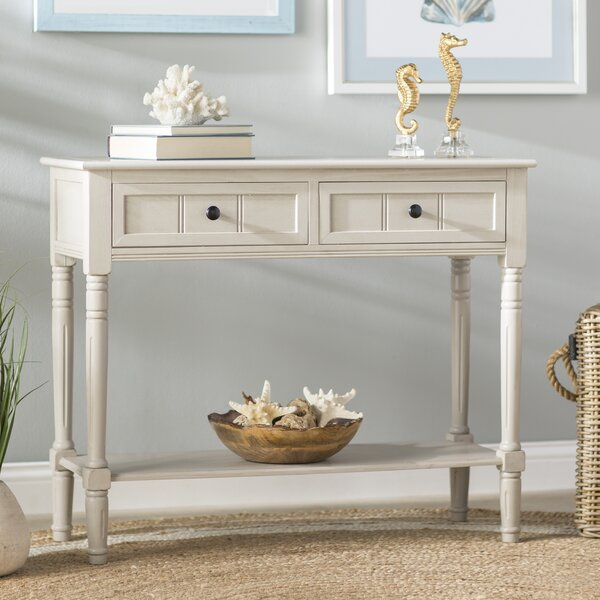 Manning 2 Drawer Console Table Amp Reviews Birch Lane