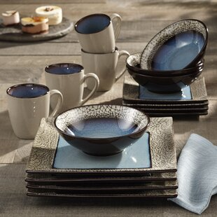 Roma 16 Piece Dinnerware Set Service for 4 & Artistic Accents Dinnerware | Wayfair