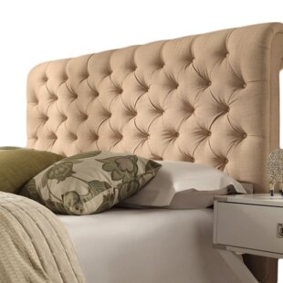 Elwood Classic Scrolled Upholstered Headboard By Willa Arlo Interiors