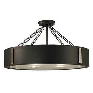 Framburg Oracle 4-Light Semi Flush Mount